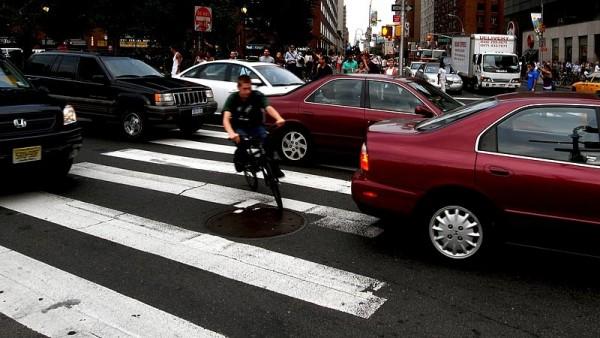 Dealing with Manhattan traffic
