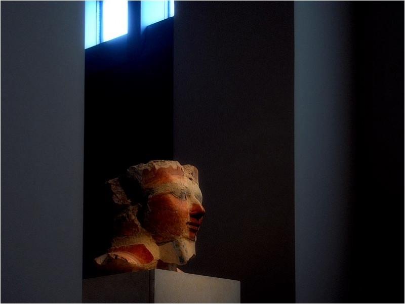 Pharaoh's head, Metropolitan Museum