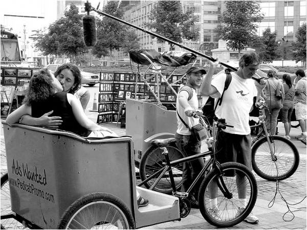 Pedicab minimovie on Colombus Circle