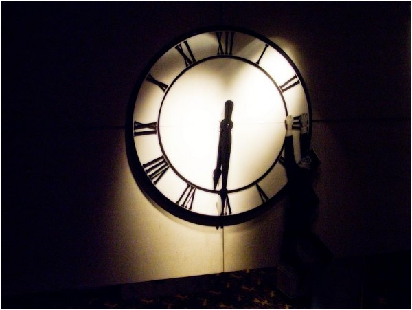Clock at Loewe's Theatre, Lincoln Centre