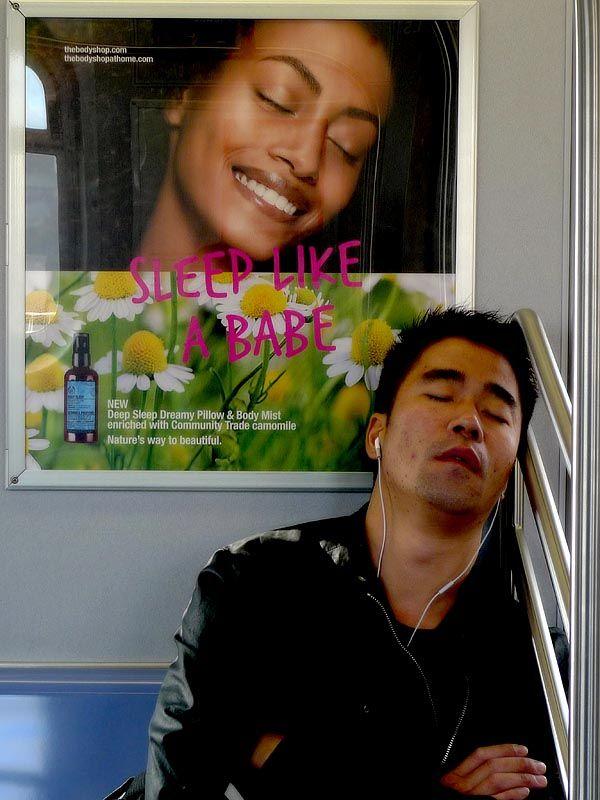 "Dreaming a dream on the ""M"" train"