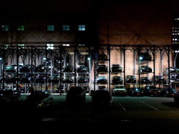 Multi-storey car parking garage in Tribeca