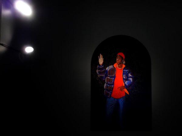Iconic portrait of a black dude