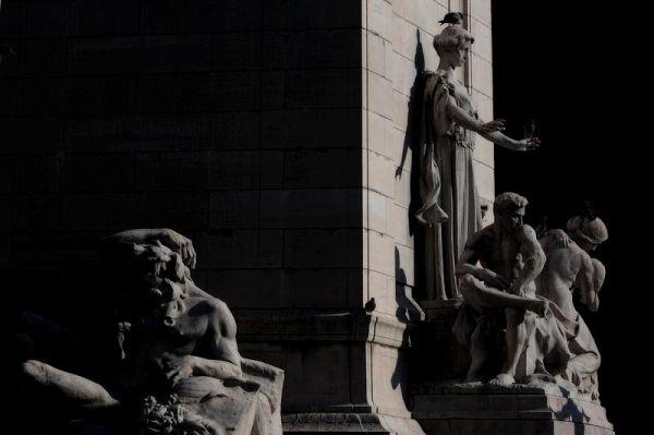 Columbus Circle gods