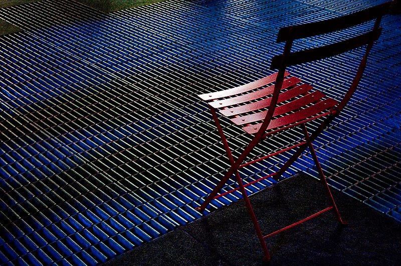 Chair on Times Square