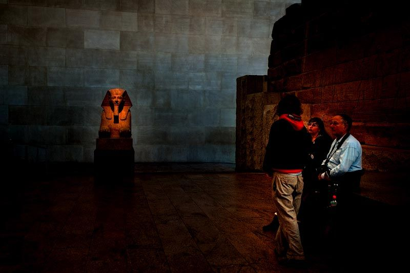 Stopping by the Temple of Dendur
