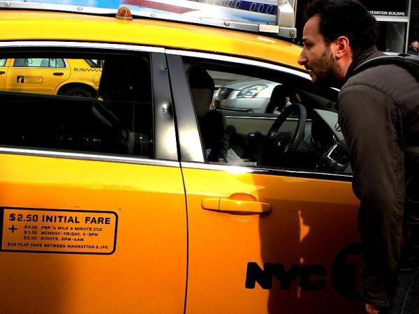 Rush hour cab