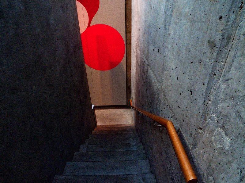 Stairway at Taschen, SoHo New York
