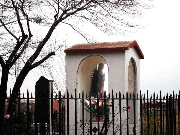 Guadalupe shrine at Bedford Stuyvesant