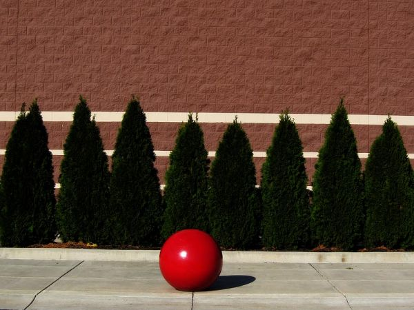 Red ball at Harrisburg Target