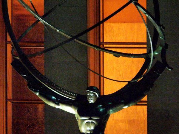Statue of Atlas at the Rockefeller Center