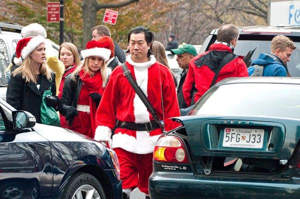 Santa in Central Park