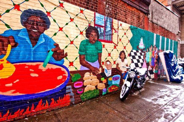 Mural on Cook Street