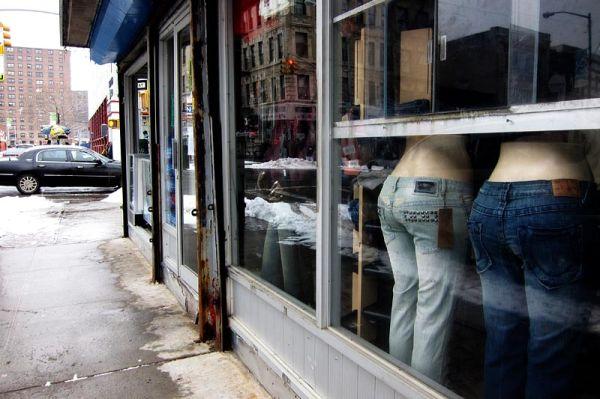 Mannequins on Varet Street
