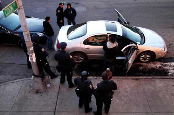 Arrest on Cook Street, Williamsburg, Brooklyn