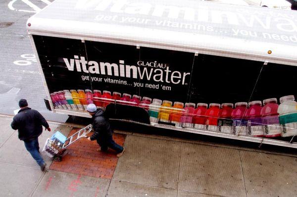 Water truck on Manhattan Avenue