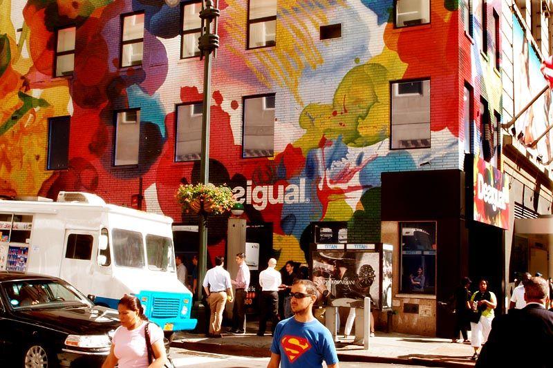 Superman on Sixth Avenue