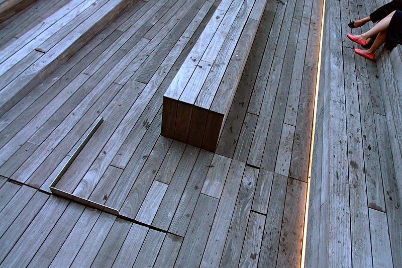 Amphitheatre at the High Line Park