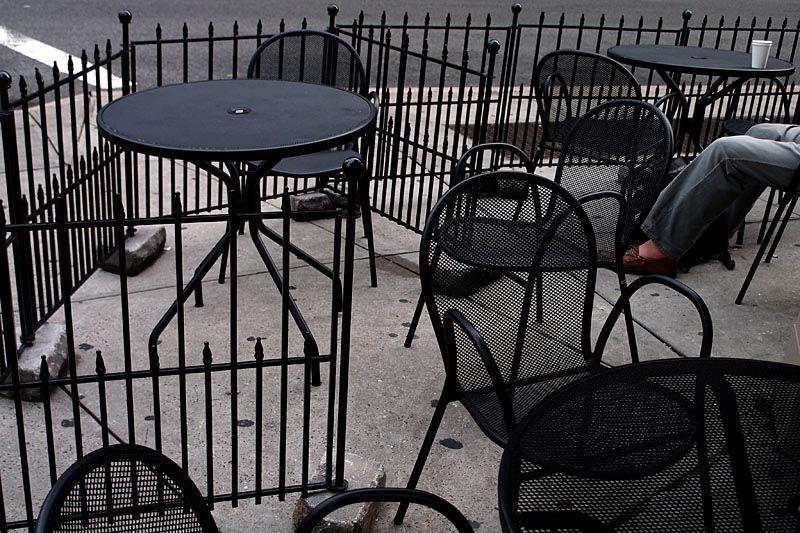 Coffee break at the corner, near Union Square