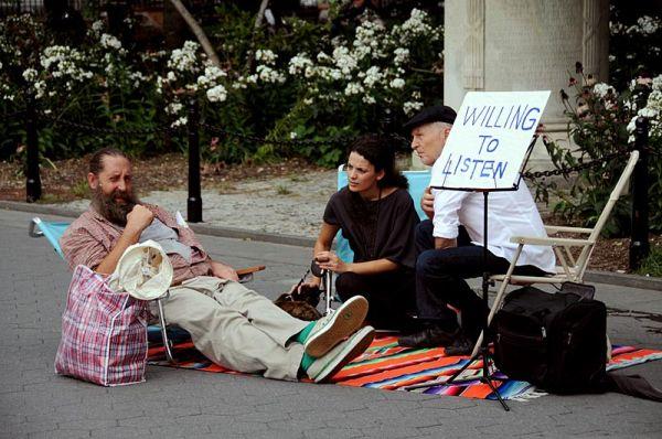 Dollar session on Washington Square park