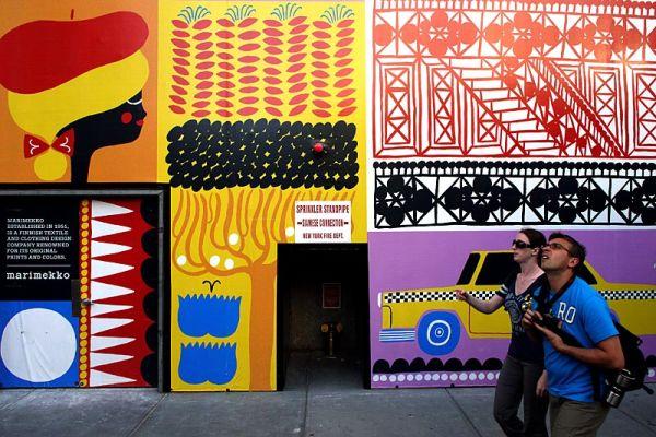 The new Marimekko store on Madison Square Park