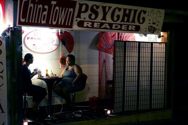 Chinatown psychic right off the street