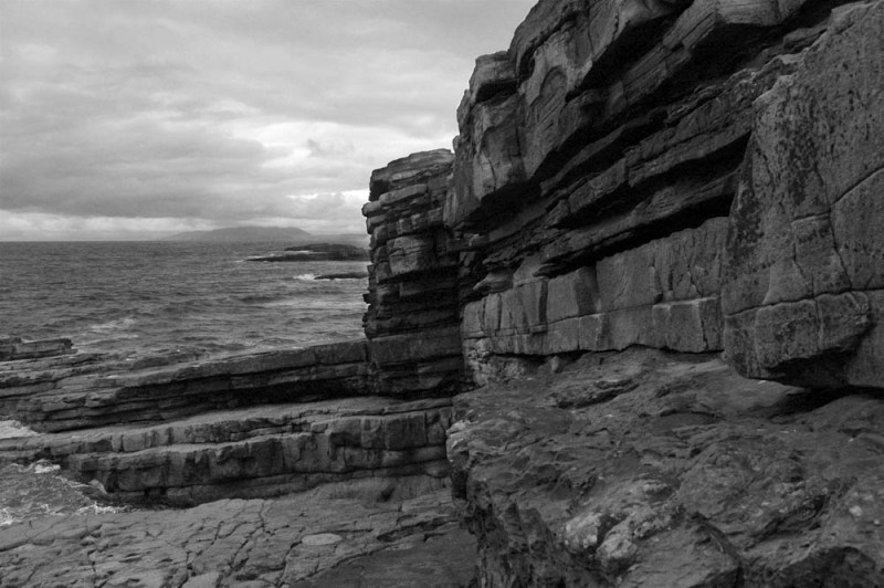 Atlantic coastline at Mullaghmore Head, Sligo