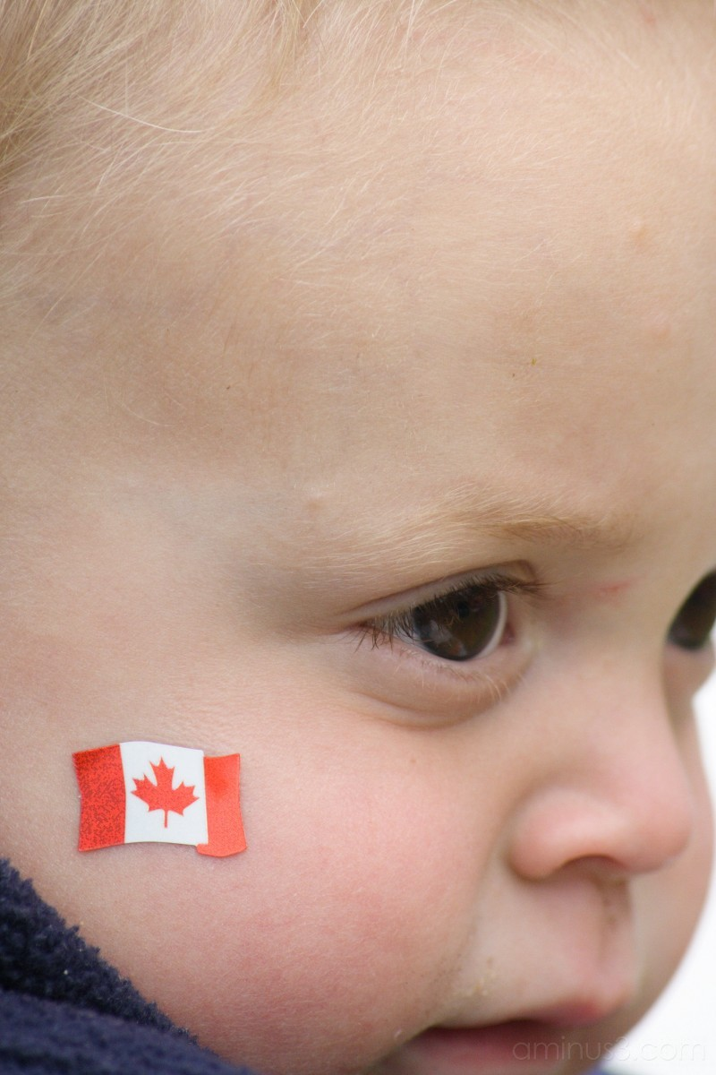 Canada Day Kid