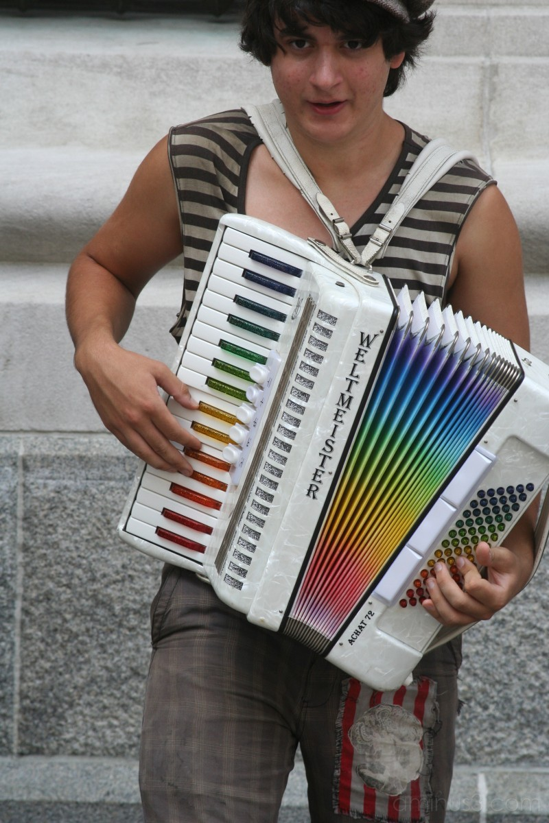 Rainbow Accordion