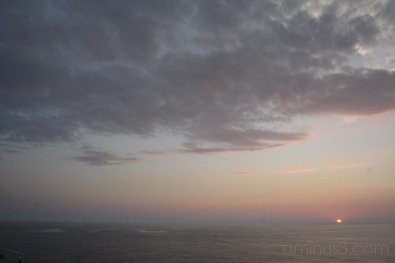 North Atlantic Sunset 3