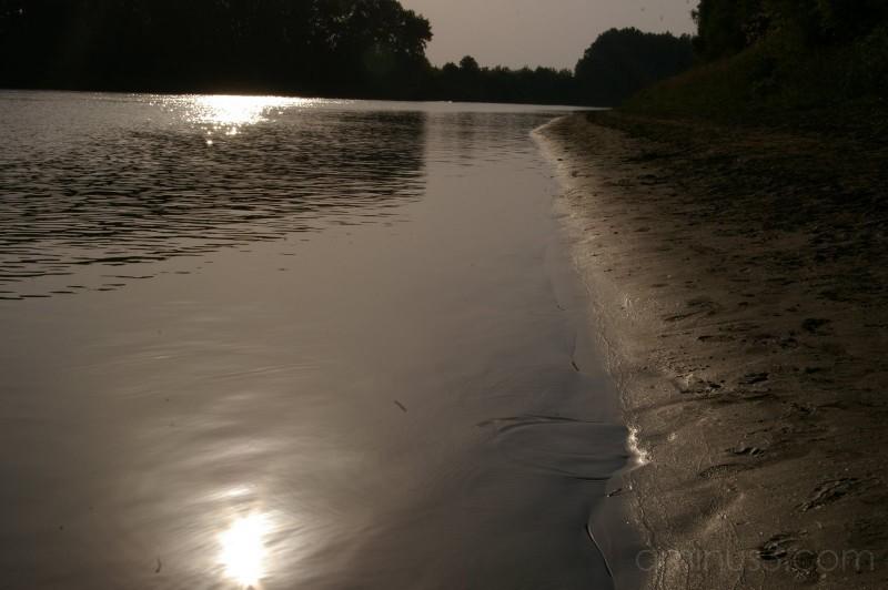 A Silver Tisza River