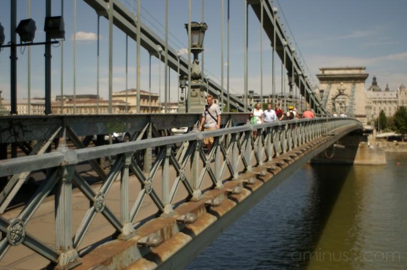 Lánchíd (Chain Bridge), Budapest - 1