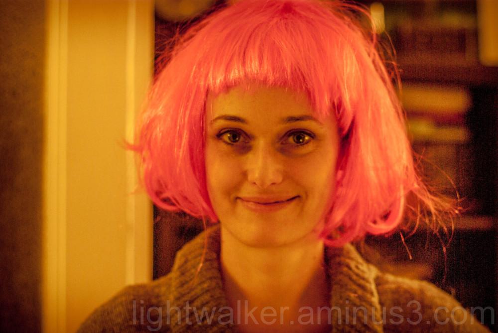 Boróka with wig