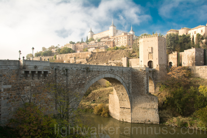 View of Toledo from the Puente de Alcantara