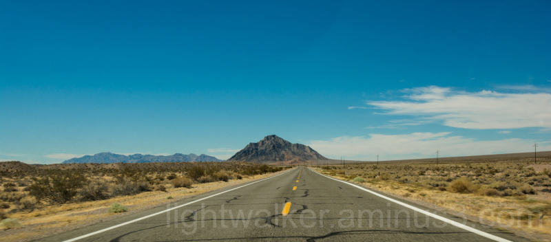 A mountain in Mojave Desert