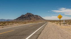 A mountain in Mojave Desert