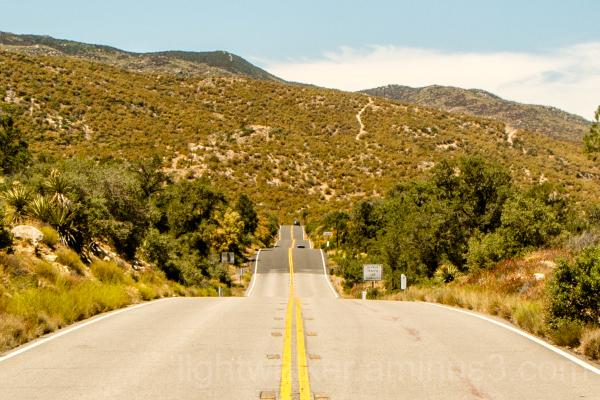 Route 74 in San Bernardino