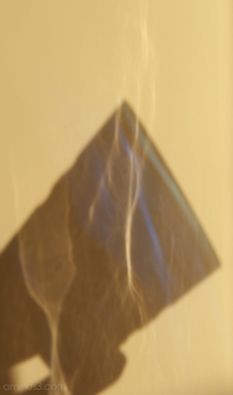 Shadow refraction reflection