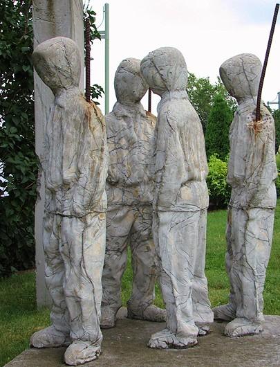 sculpture de la vélogare