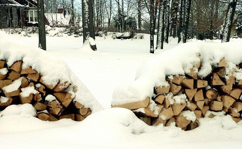 on s'est préparé pour l'hiver...