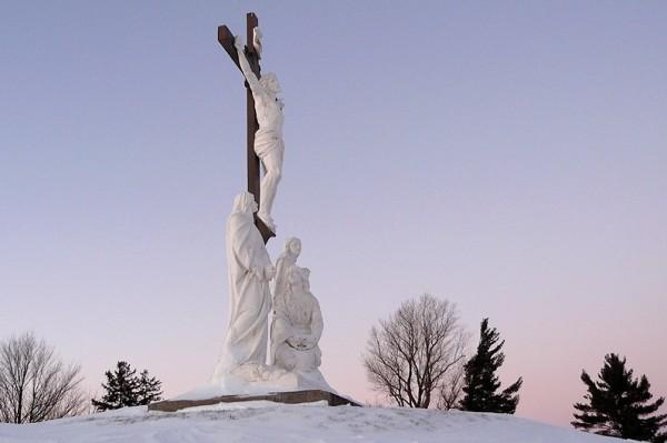 cimetière en hiver III - cemetery in winter III