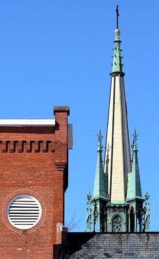 les deux clochers en harmonie