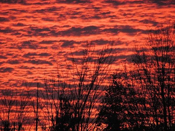 coucher de soleil brûlant - hot sunset