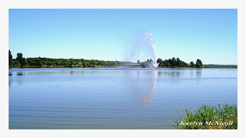 la fontaine du lac Boivin
