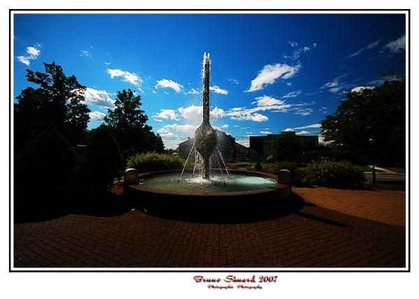 fontaine du parc Victoria - Victoria park fountain