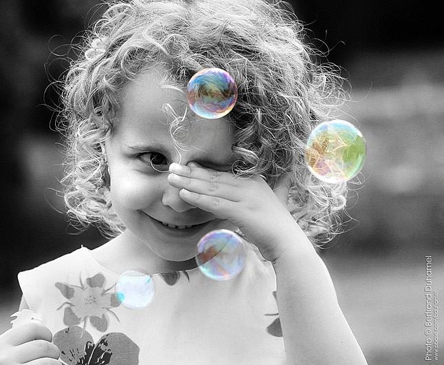 les bulles magiques de Maheva