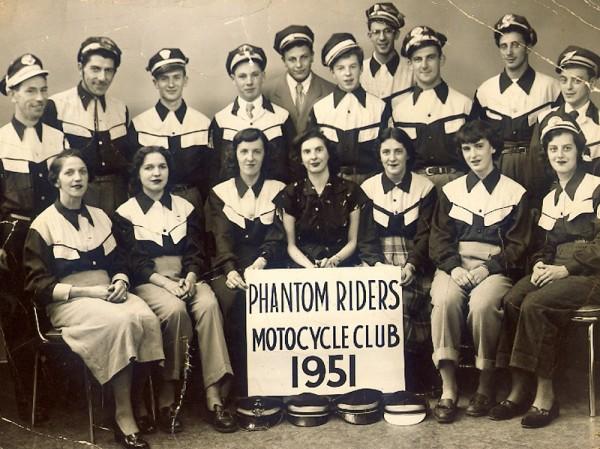 memorabilia - granby phantom riders 1951