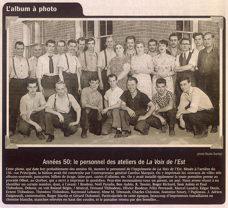 memorabilia - les années 50 - the fifties