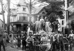 memorabilia   employés municipaux   1909