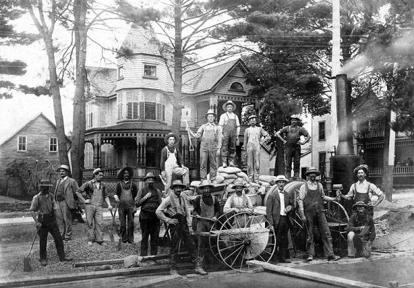 memorabilia - employés municipaux - 1909